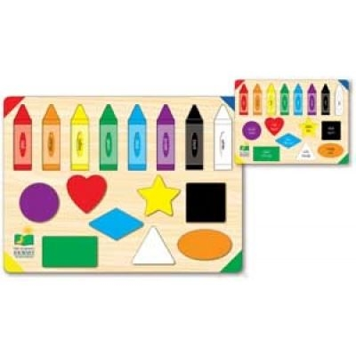 Lift and Learn Colors and Shapes