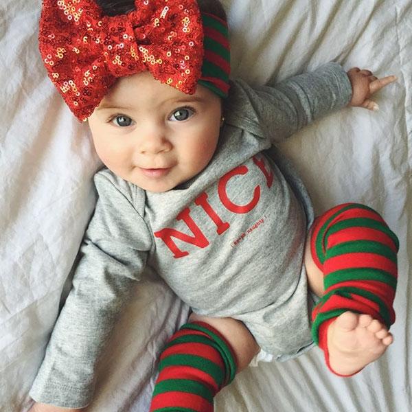 Christmas Baby Girl One Piece
