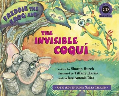 Books for Kids: Freddie the Frog® and the Invisible Coqui