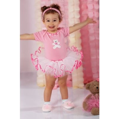 Beary Happy Onesie and Tutu
