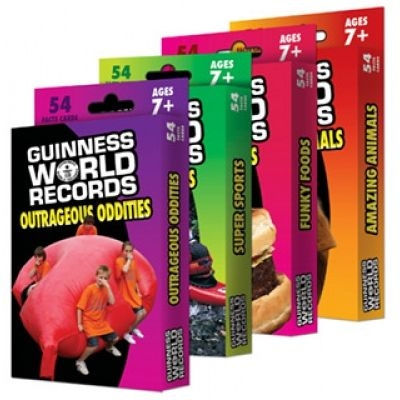 Guinness World Records® Fact Cards