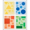 Discovering Shapes: Vibrant Edition Stretched Canvas Art