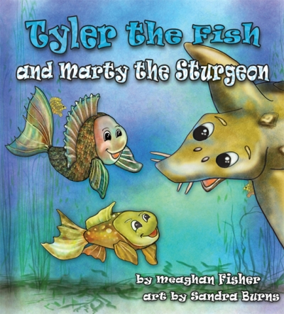 Tyler the Fish and Marty the Sturgeon