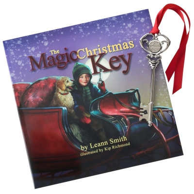 The Magic Christmas Key gift set