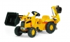 CAT Junior Backhoe Loader