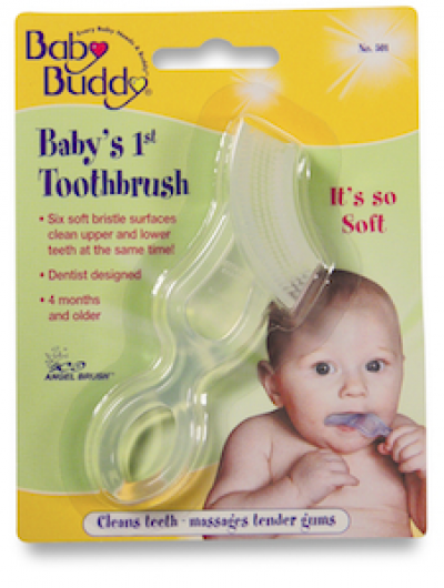 Baby Buddy Baby's First Toothbrush