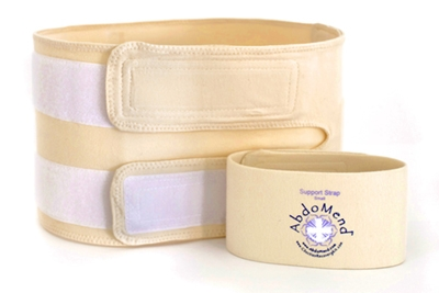 AbdoMend Support Belt with Extra Strap