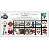 The Cartoon Periodic Chart First 18 Elements Poster