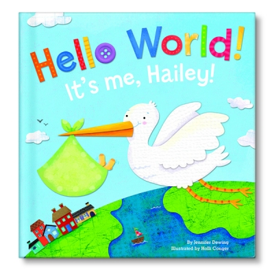 hello world personalized board book by i see me creative child
