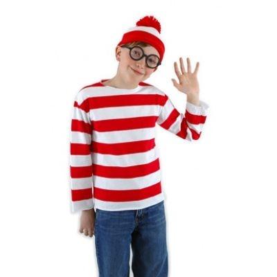 Where's Waldo - kids costume kit