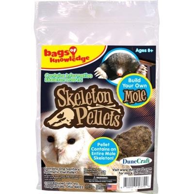Skeleton Pellets™ Bags of Knowledge Mole