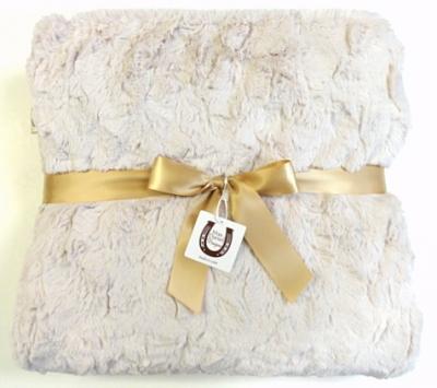 Luxe Bunny Baby Blanket