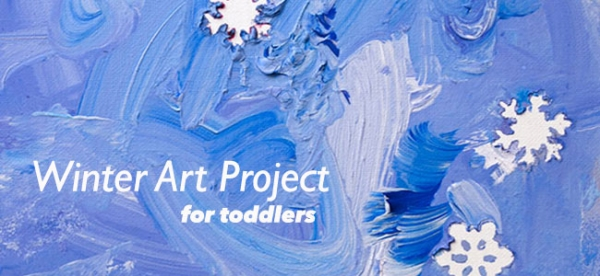Kids Activities: Winter Art Project for Toddlers