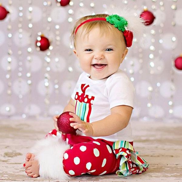 Christmas Cutest Little Girl