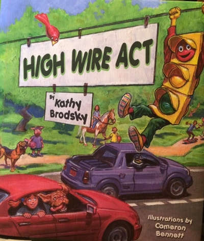 Books for Kids or Parents: High Wire Act - hardcover picture book