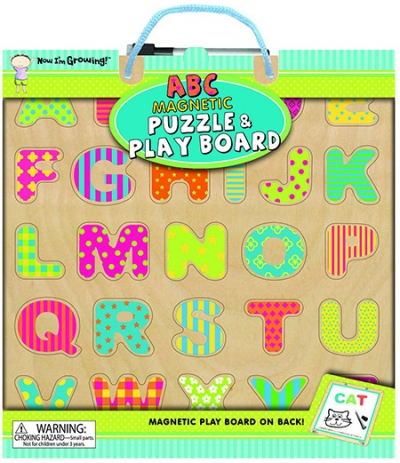 ABC Magnetic Puzzle & Play Board