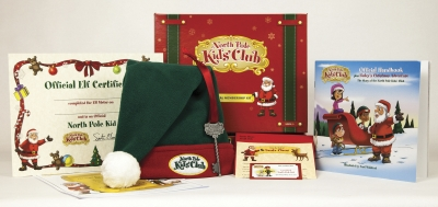North Pole Kids' Club Membership Kit