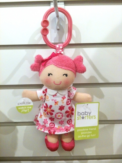 Activity Toy - Jitter Doll