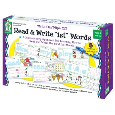 Write On/Wipe Off Read & Write 1st Words