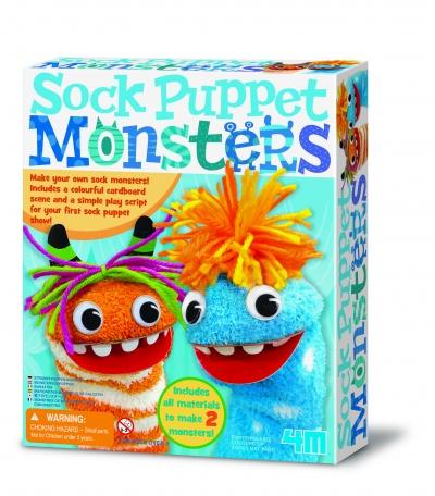 Sock Puppet Monsters Kit