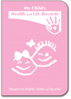 Child Health Passport (Pink)