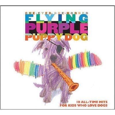 Flying Purple Puppy Dog