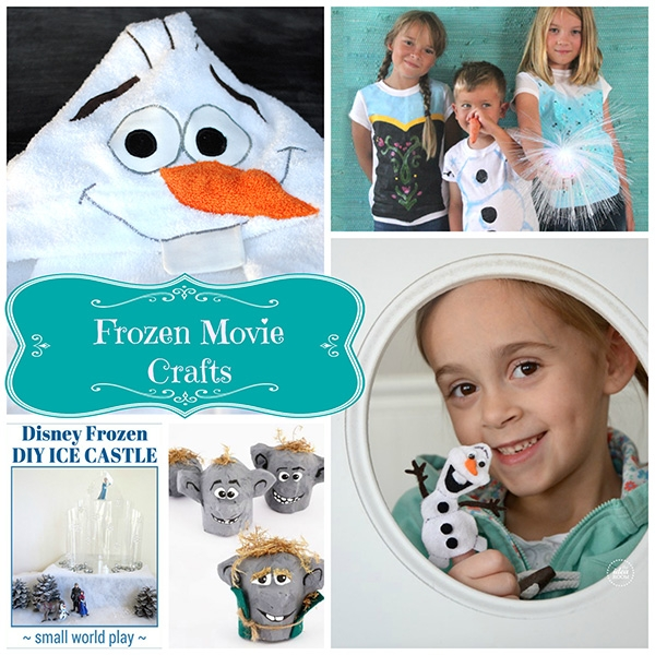 Frozen Movie Crafts Creative Child