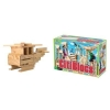 52 Piece Wooden Building Block Set