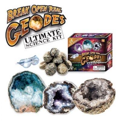 Break Open Real Geodes Ultimate Kit