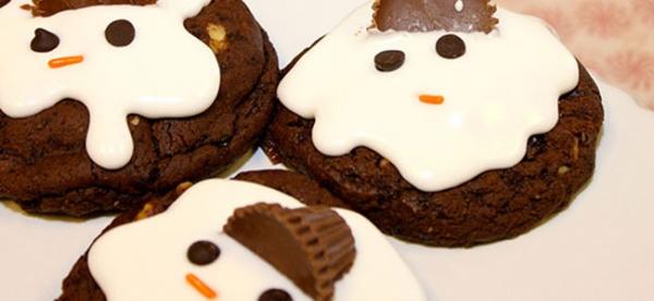 Kids Kitchen: Melted Snowman Cookies