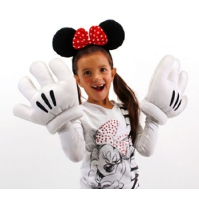 Minnie Ears/Glove Set