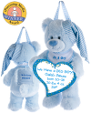 Blue Bear Treasure Pocket a-door-nimal