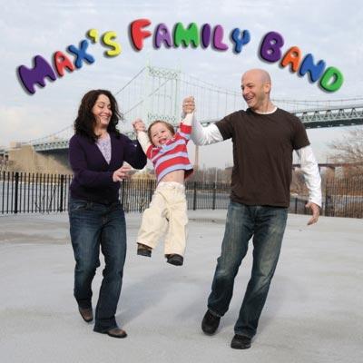 Max's Family Band CD