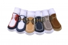 Docksiders Non-Skid soles- 6 pairs 0-12 months