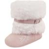 Pink Fur boot