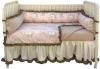 Angelica Girl's Four Piece Crib Set