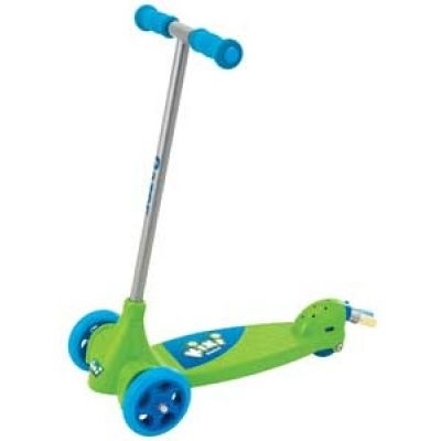 Kixi® Scribble™ three-wheel chalk scooter