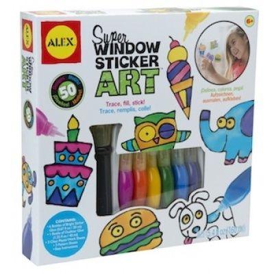 Super Window Sticker Art