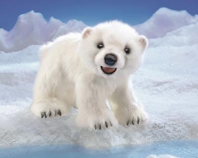 Folkmanis® Polar Bear Cub Puppet
