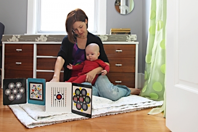 Eye Games for Baby (accordian-fold Book)