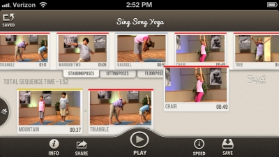 Sing Song Yoga App
