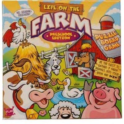 Babymaternity Awards Preschool Life On The Farm Puzzle Board Game By
