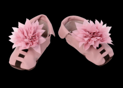 Floral Baby Shoes-Pink or Lavender