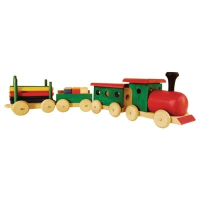Woodman Concept™: Train with Wagons (4+ years)