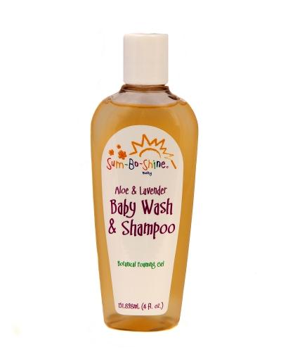 Aloe and Lavender Baby Wash and Shampoo
