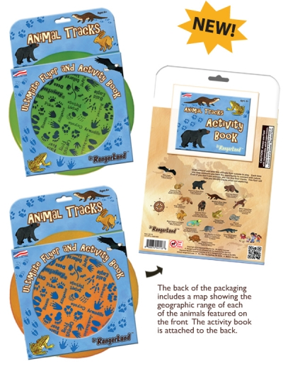 Animal Tracks Flyer & Activity Book