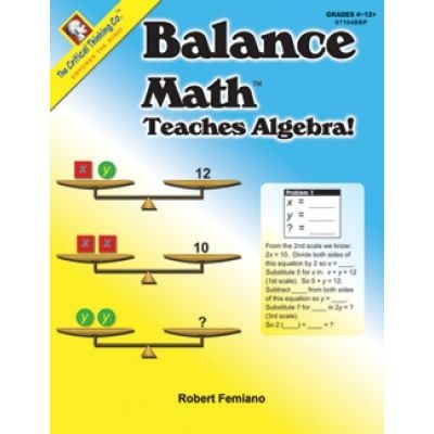 Balance Math Teaches Algebra
