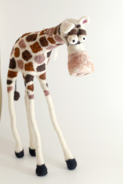 Jimmy the Tall Giraffe Felting Kit