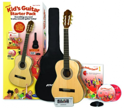 Alfred's Kid's Guitar Starter Pack: Everything You Need to Play Today!