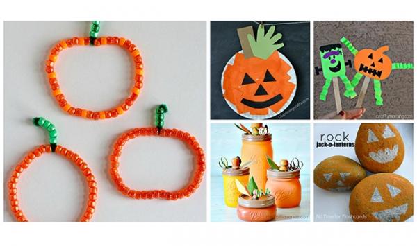 Halloween Sunday School Crafts